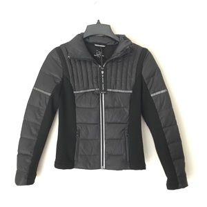 Blanc Noir | NWT Reflective Light Puffer Coat XS
